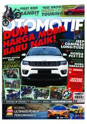 Cover Majalah OTOMOTIF ED 22 Oktober 2018