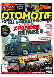 Cover Majalah OTOMOTIF ED 25 Oktober 2018