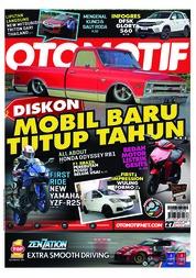 Cover Majalah OTOMOTIF ED 27 November 2018