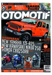 OTOMOTIF Magazine Cover ED 31 December 2018