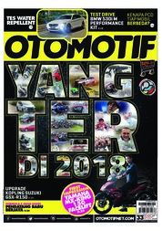 OTOMOTIF Magazine Cover ED 33 December 2018