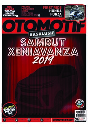 OTOMOTIF Magazine Cover ED 34 January 2019