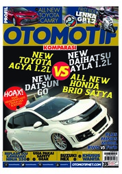 OTOMOTIF Magazine Cover ED 35 January 2019