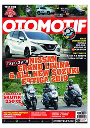 OTOMOTIF Magazine Cover ED 40 February 2019