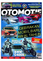 OTOMOTIF Magazine Cover ED 42 March 2019