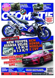 OTOMOTIF Magazine Cover ED 43 March 2019