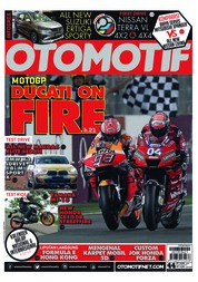 OTOMOTIF Magazine Cover ED 44 March 2019