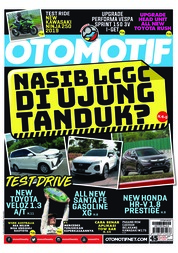 OTOMOTIF Magazine Cover ED 45 March 2019