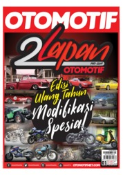 OTOMOTIF Magazine Cover ED 01 May 2019