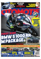 OTOMOTIF Magazine Cover ED 52 May 2019