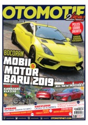 OTOMOTIF Magazine Cover ED 10 July 2019