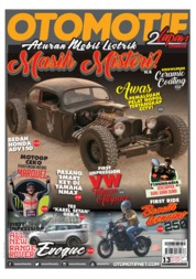 OTOMOTIF Magazine Cover ED 13 August 2019