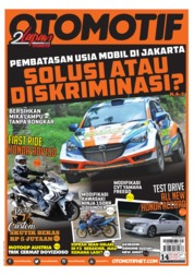 OTOMOTIF Magazine Cover ED 14 August 2019