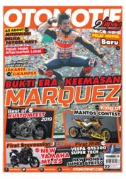 Cover Majalah OTOMOTIF ED 22 Oktober 2019