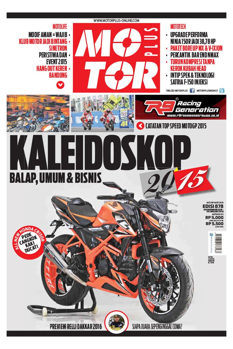 MOTOR PLUS Magazine ED 878 December 2015 Gramedia Digital
