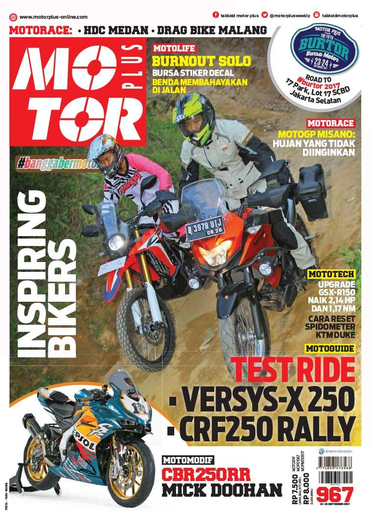Majalah Digital MOTOR PLUS ED 967 September 2017