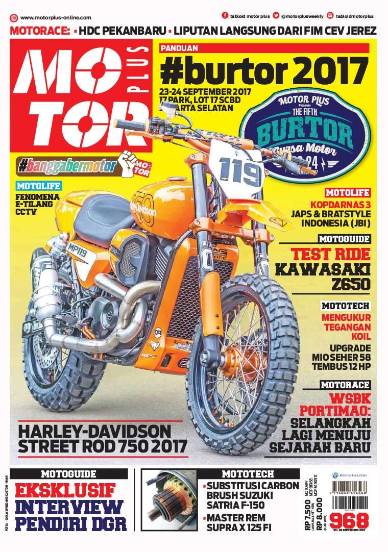 Majalah Digital MOTOR PLUS ED 968 September 2017
