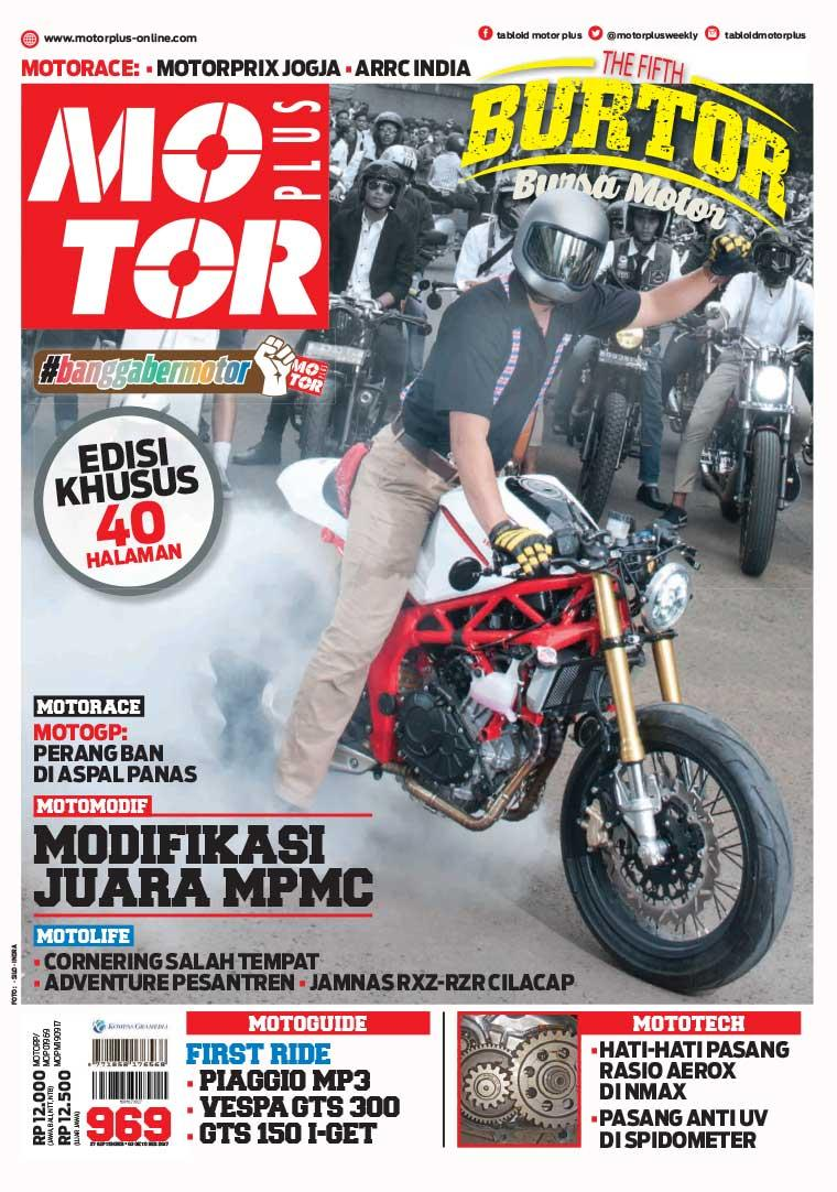 Majalah Digital MOTOR PLUS ED 969 September 2017