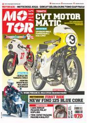 Cover Majalah MOTOR PLUS ED 970 Oktober 2017