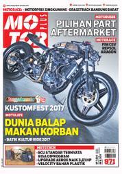 Cover Majalah MOTOR PLUS ED 971 Oktober 2017