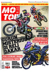 Cover Majalah MOTOR PLUS ED 984 Januari 2018