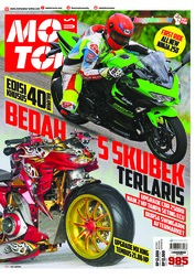 Cover Majalah MOTOR PLUS ED 985 Januari 2018