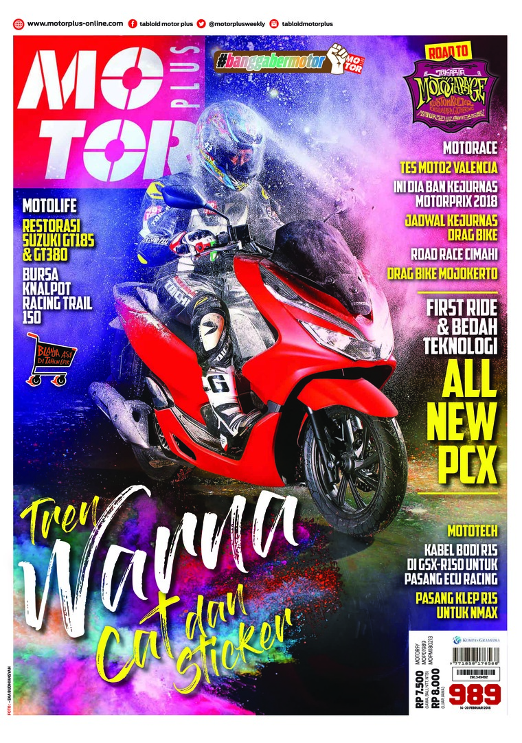 Majalah Digital MOTOR PLUS ED 989 Februari 2018