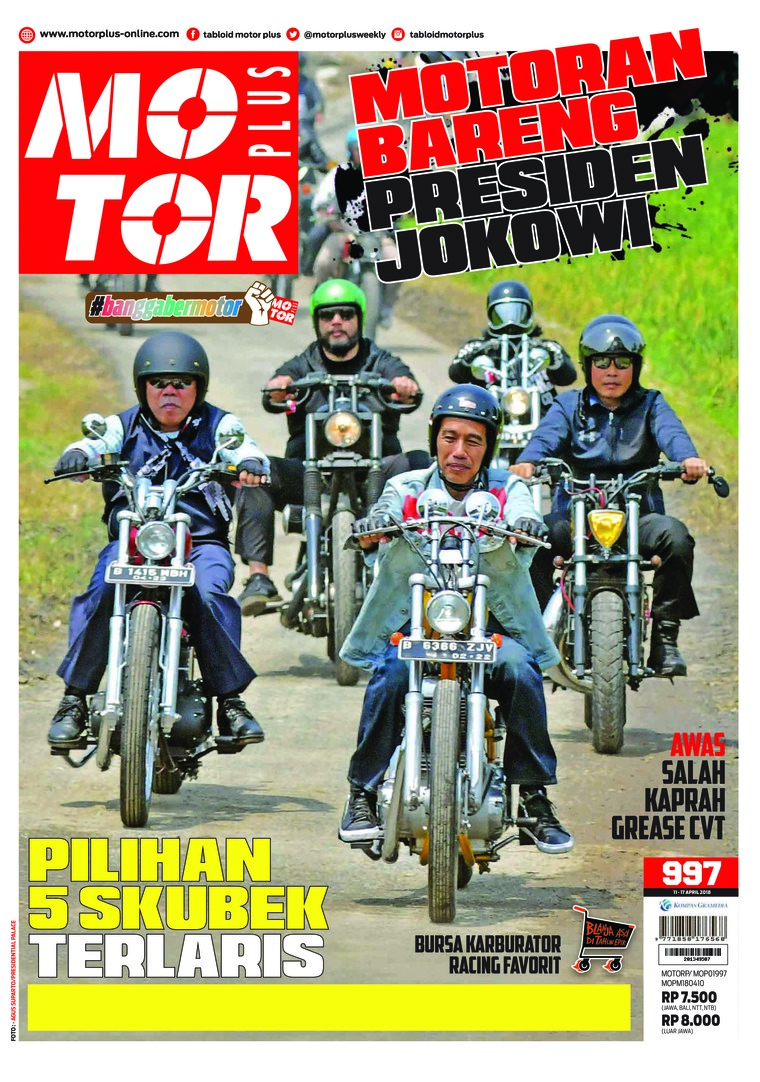 Majalah Digital MOTOR PLUS ED 997 April 2018