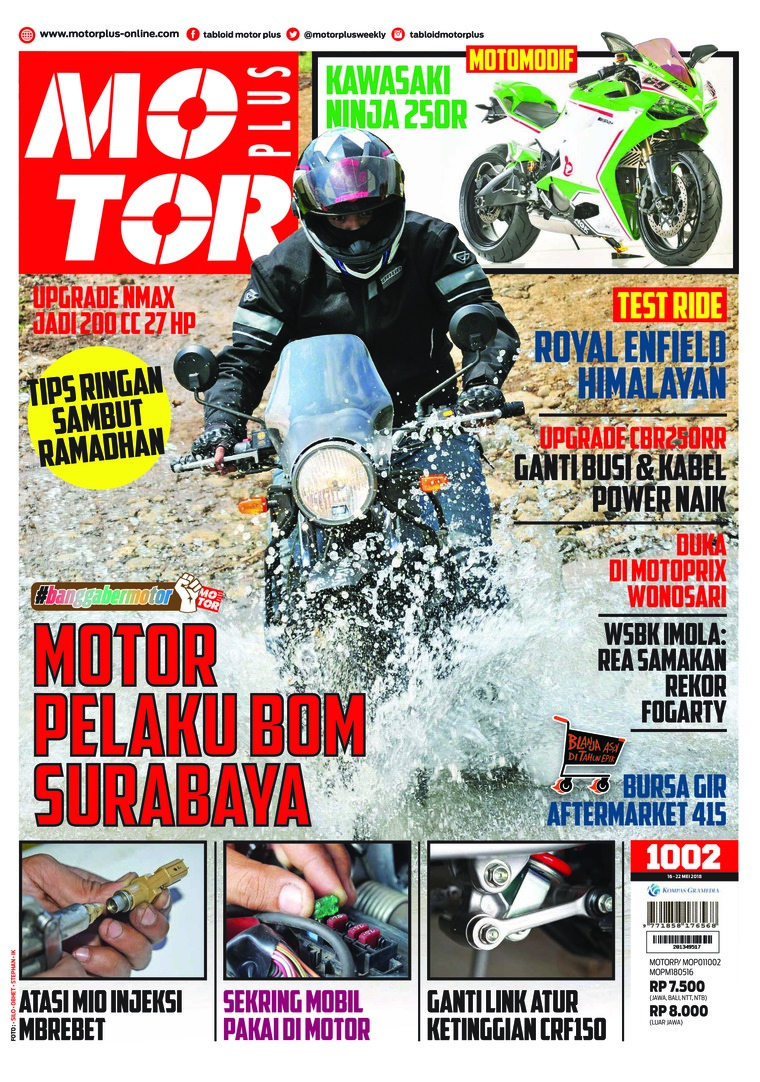 Majalah Digital MOTOR PLUS ED 1002 Mei 2018