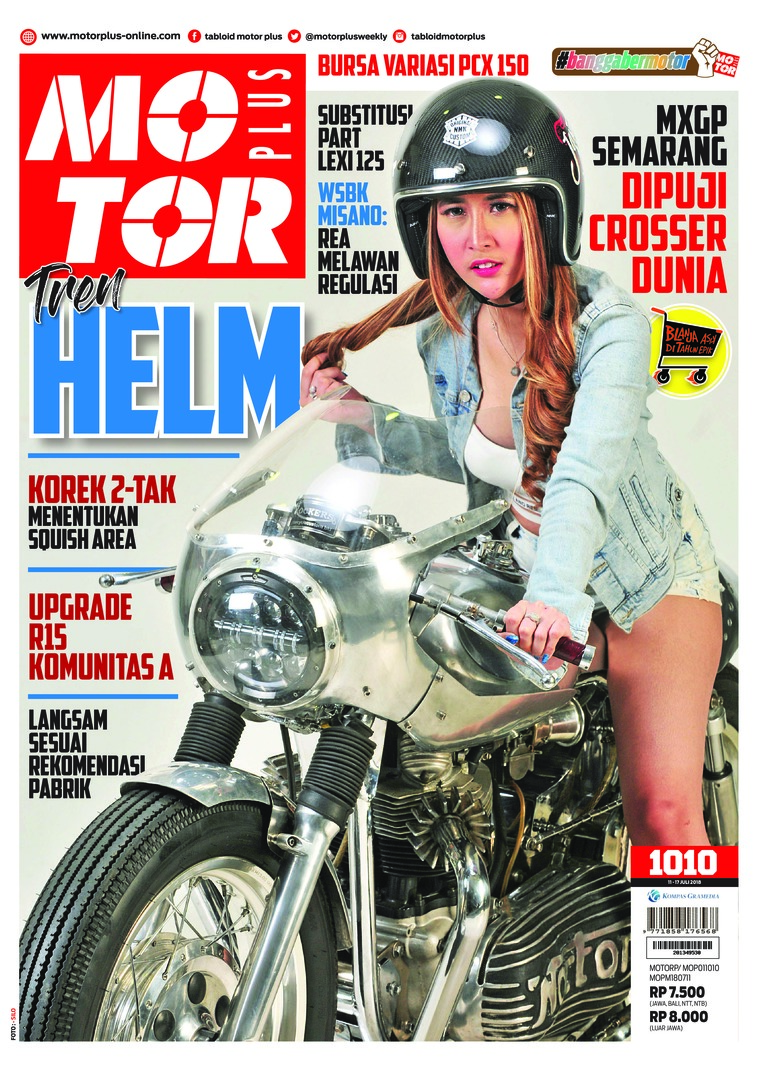 Majalah Digital MOTOR PLUS ED 1010 Juli 2018