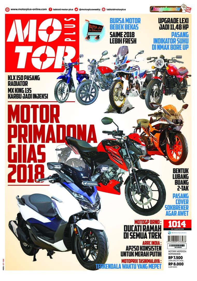 Majalah Digital MOTOR PLUS ED 1014 Agustus 2018