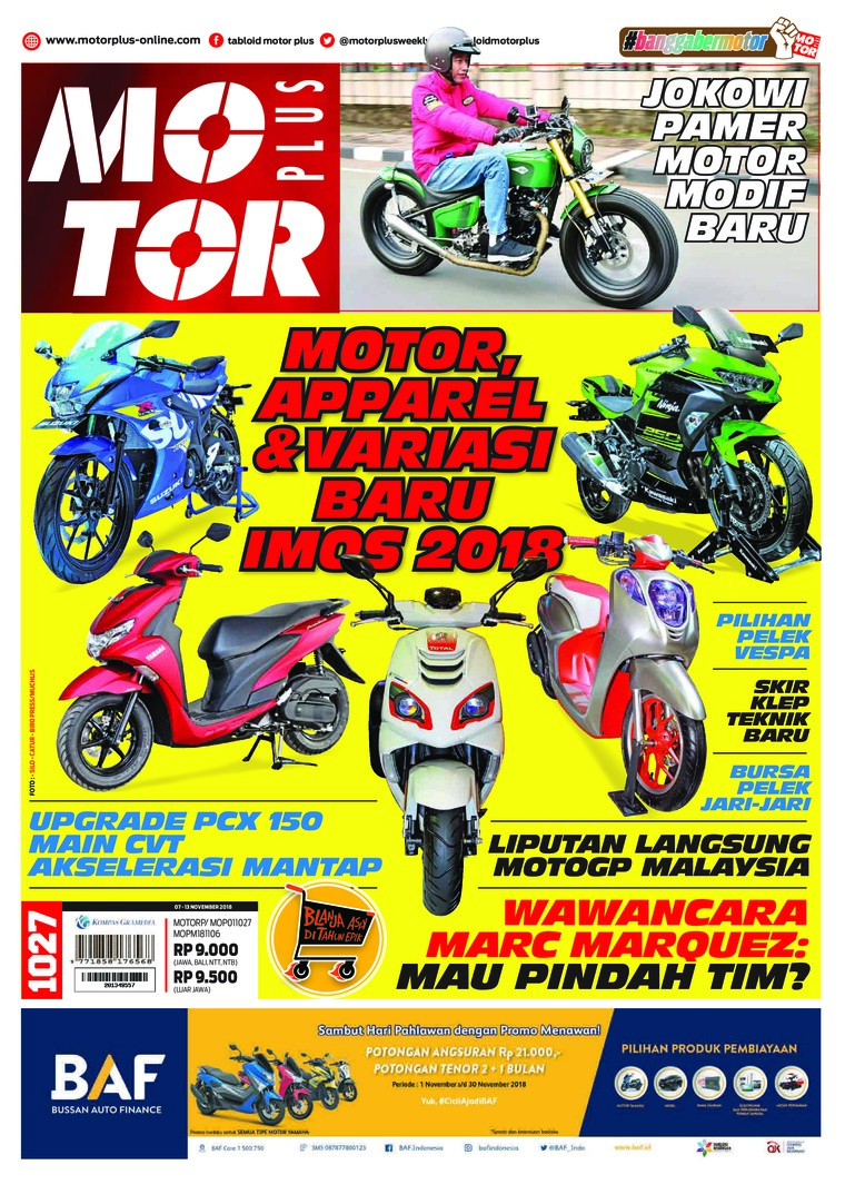 MOTOR PLUS Digital Magazine ED 1027 November 2018