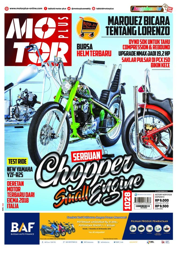 Majalah Digital MOTOR PLUS ED 1028 November 2018