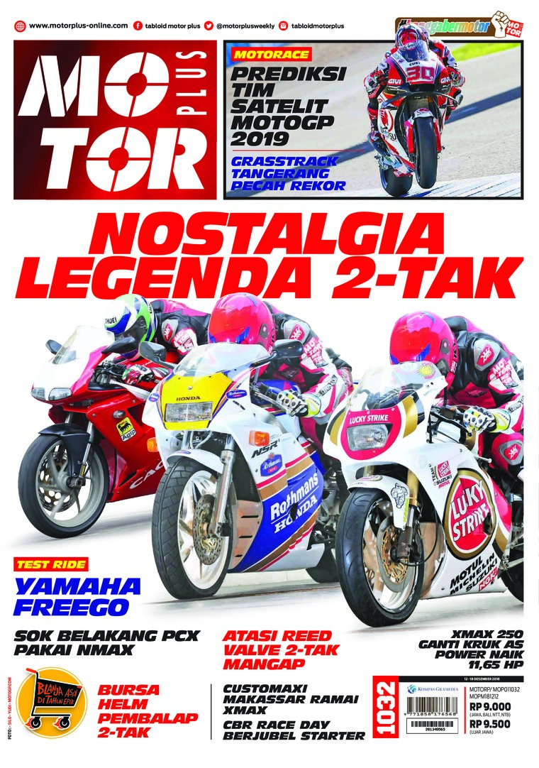 Majalah Digital MOTOR PLUS ED 1032 Desember 2018