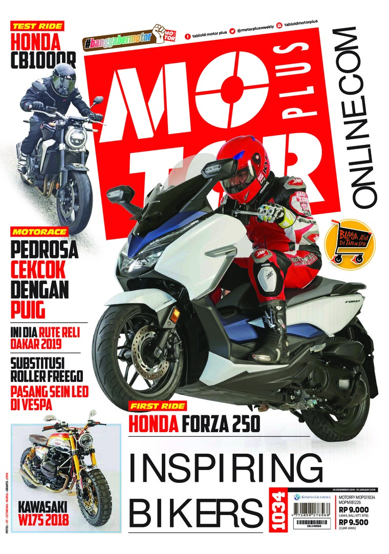 MOTOR PLUS Digital Magazine ED 1034 January 2019