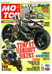 Cover Majalah MOTOR PLUS ED 986 Januari 2018