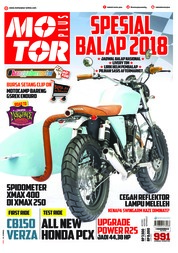 Cover Majalah MOTOR PLUS