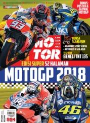 Cover Majalah MOTOR PLUS ED 994 Maret 2018