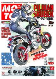 Cover Majalah MOTOR PLUS ED 995 April 2018