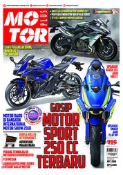 Cover Majalah MOTOR PLUS ED 996 April 2018