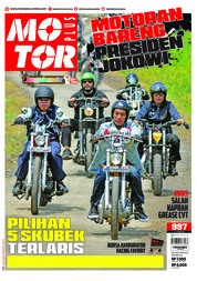 Cover Majalah MOTOR PLUS ED 997 April 2018