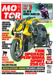 Cover Majalah MOTOR PLUS ED 998 April 2018