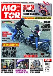 Cover Majalah MOTOR PLUS ED 1001 Mei 2018