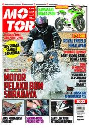 MOTOR PLUS Magazine Cover ED 1002 May 2018