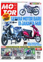 Cover Majalah MOTOR PLUS ED 1004 Mei 2018