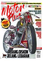 Cover Majalah MOTOR PLUS ED 1005 Mei 2018