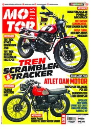 Cover Majalah MOTOR PLUS ED 1018 September 2018