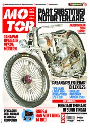 Cover Majalah MOTOR PLUS ED 1020 September 2018