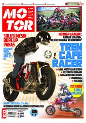 Cover Majalah MOTOR PLUS ED 1021 September 2018