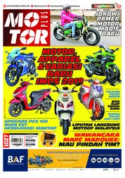 MOTOR PLUS Magazine Cover ED 1027 November 2018